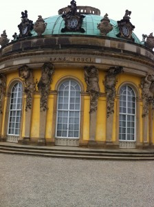 The palace of Sansoucci, Potsdam, Germany