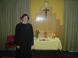 Pastor Kristin Jahn