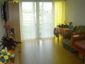 There are 240 private rooms.  Bright and sunny with lots of room.