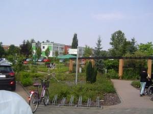 Beautiful park like area.